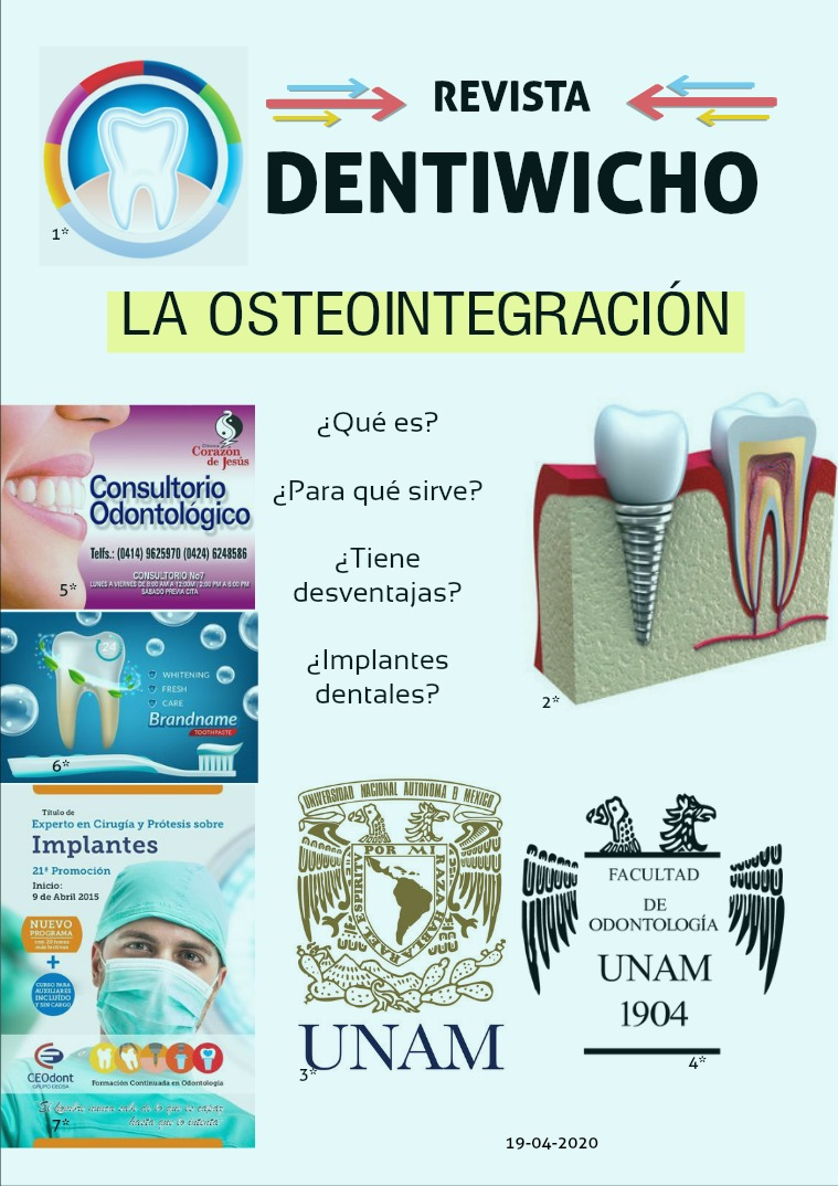 La educación odontológica actual- Osteointegración 1