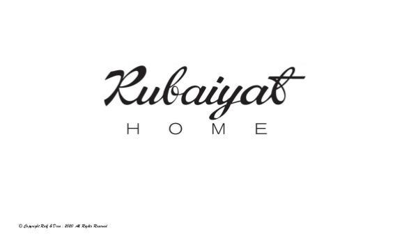 RUBAIYAT ADVANCE LUXURY FURNITURE RUBAIYAT LUXURY HOME REPORT