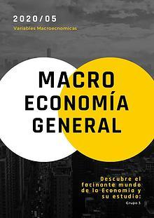 GRUPO #3 REVISTA MACRO ECONOMICA