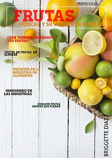Frutas en almibar