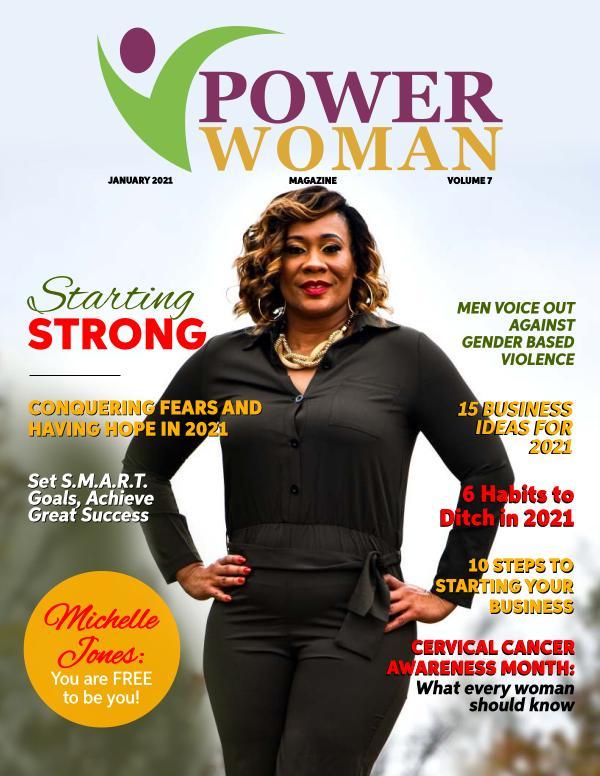 Power Woman Digital Magazine January 2021