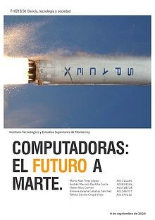 Computadoras: el futuro a Marte.