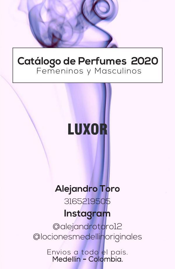 Catálogo Perfumería 2020