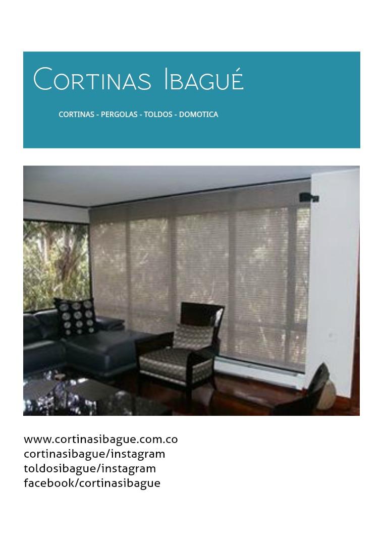Broshure cortinas ibague