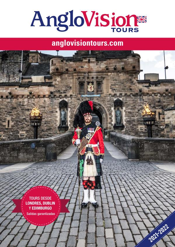 Circuitos regulares AngloVision Tours 2021 2021-22
