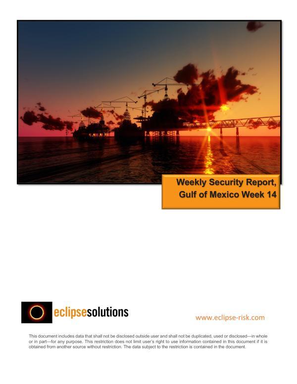 Weekly Security Report - Week 14